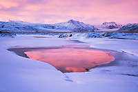 Not a particular special destination in Iceland, simply a spot along the southern highway when the sky lit up at sunset.  So much of Iceland is like this, just rolling beautiful scenery.