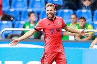 Real Sociedad's Asier Illarramendi celebrates goal during La Liga match. September 10,2017.  *** Local Caption *** © pixathlon<br /> Contact: +49-40-22 63 02 60 , info@pixathlon.de