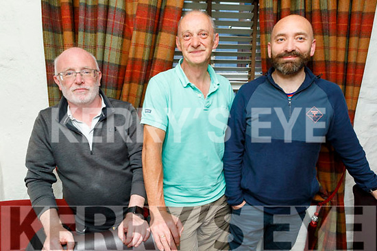 Fr Joe O'Brien, Colm Sugrue and Fr David McGovern enjoying the evening in Cassidys on Thursday