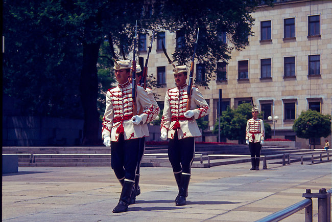 Changing of the Guard, Dimitrov Mausoleum