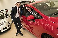 Vertu Honda dealership Nottingham. Pictured from left are Mark Whitehead and Anthony Curry