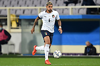 Emerson Palmieri Dos Santos of Italy in action during the friendly football match between Italy and Moldova at Artemio Franchi Stadium in Firenze (Italy), October, 7th 2020. Photo Andrea Staccioli/ Insidefoto