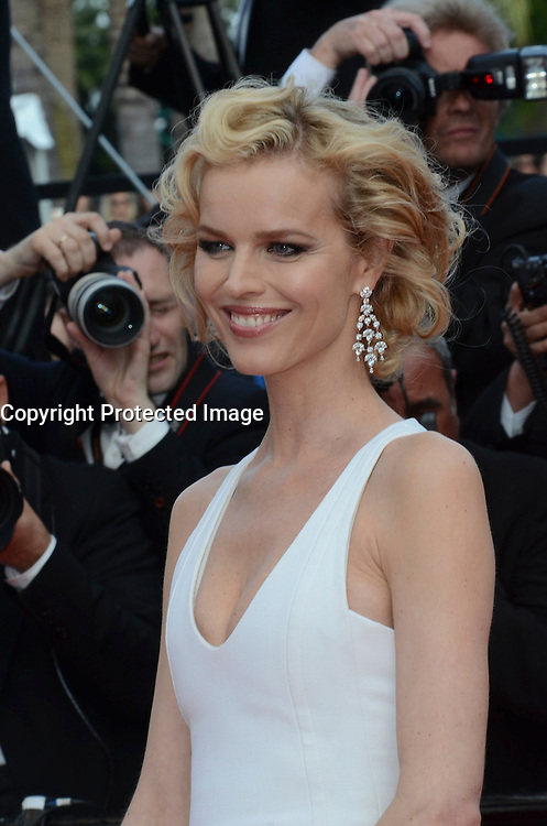 Eva Herzigova attend 'The Unknown Girl (La Fille Inconnue)' Premiere during the 69th annual Cannes Film Festival at the Palais des Festivals on May 18, 2016 in Cannes, France