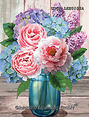,FLOWERS, BLUMEN, FLORES, paintings+++++,USCRLEE0102A,#f#, EVERYDAY