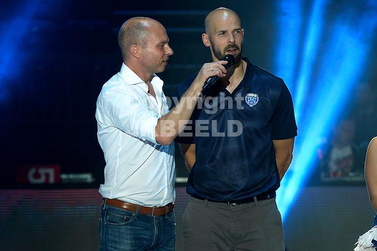 GRONINGEN - Basketbal , Open Dag met Donar - Antwerp Giants , voorbereiding seizoen 2021-2022, 05-09-2021,  assistent trainer Jan Stalman