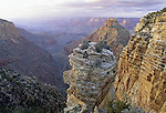 Along the South Rim east of Mather Point, Grand Canyon National Park, Arizona, USA