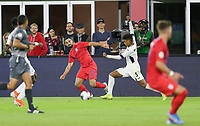 WASHINGTON, D.C. - OCTOBER 11: Sebastian Lletget #17 of the United States moves to the ball during their Nations League game versus Cuba at Audi Field, on October 11, 2019 in Washington D.C.