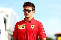 #16 Charles Leclerc, Scuderia Ferrari. Italian GP, Monza 5-8 September 2019<br /> Monza 07/09/2019 GP Italia <br /> Formula 1 Championship 2019 <br /> Photo Federico Basile / Insidefoto