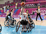 Tamamra Steeves, Lima 2019 - Wheelchair Basketball // Basketball en fauteuil roulant.<br />