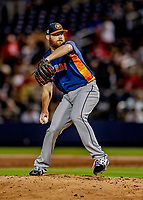 23 February 2019: Houston Astros pitcher Cy Sneed on the mound against the Washington Nationals during a Spring Training game at the Ballpark of the Palm Beaches in West Palm Beach, Florida. The Nationals rallied to walk off with a 7-6 Grapefruit League Opening Game win to start the pre-season. Mandatory Credit: Ed Wolfstein Photo *** RAW (NEF) Image File Available ***
