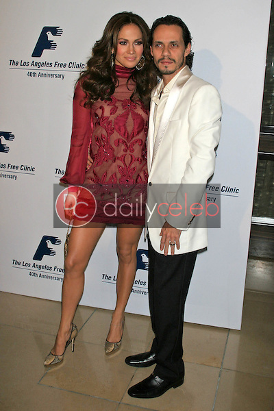 Jennifer Lopez and Marc Anthony<br />at the Friends of the Los Angles Free Clinic Annual Dinner Gala. Beverly Hilton Hotel, Beverly Hills, CA. 11-20-06<br />Dave Edwards/DailyCeleb.com 818-249-4998