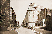 New York History:  Park Avenue before 1927.  Silver's LOST NEW YORK, p. 93.