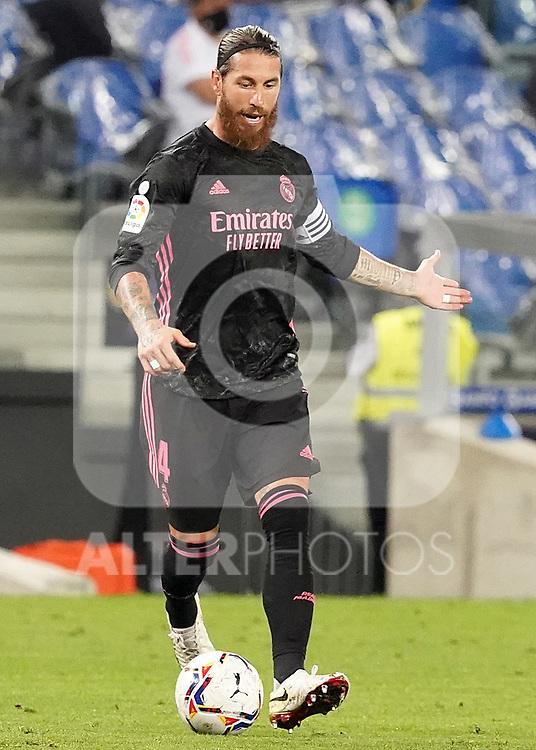 Real Madrid's Sergio Ramos during La Liga match. September 20, 2020. (ALTERPHOTOS/Acero)