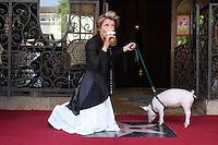 Emma Thompson Walk of Fame Ceremony