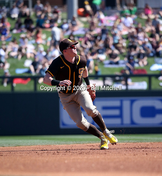 Jake Cronenworth - San Diego Padres 2020 spring training (Bill Mitchell)