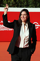 The producer Gisella Marengo poses for photographers on the red carpet of the 15th edition of Rome film Fest during the presentation of the film 'Framcesco'. <br /> Rome (Italy), October 21st 2020<br /> Photo Samantha Zucchi Insidefoto