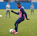 19.02.2020 Rangers training: Alfredo Morelos