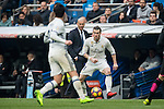 Gareth Bale of Real Madrid during the match Real Madrid vs RCD Espanyol, a La Liga match at the Santiago Bernabeu Stadium on 18 February 2017 in Madrid, Spain. Photo by Diego Gonzalez Souto / Power Sport Images