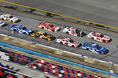 #1: Elliott Sadler, JR Motorsports, Chevrolet Camaro Chevrolet OneMain Financial and #20: Christopher Bell, Joe Gibbs Racing, Toyota Camry Rheem