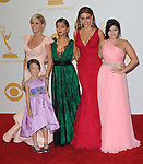 The ladies of Modern Family attends 65th Annual Primetime Emmy Awards - Arrivals held at The Nokia Theatre L.A. Live in Los Angeles, California on September 22,2012                                                                               © 2013 DVS / Hollywood Press Agency