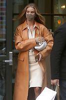Rosie Huntington-Whiteley Seen In NYC