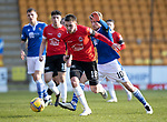 St Johnstone v Clyde…17.04.21   McDiarmid Park   Scottish Cup<br />Jack Thompspn and David Wotherspoon <br />Picture by Graeme Hart.<br />Copyright Perthshire Picture Agency<br />Tel: 01738 623350  Mobile: 07990 594431