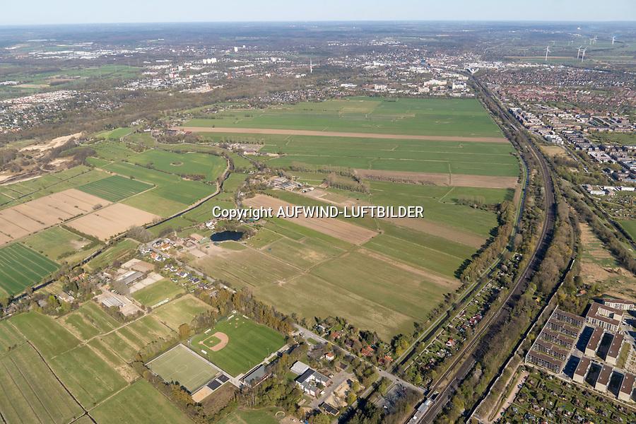 Oberbillwerder: EUROPA, DEUTSCHLAND, HAMBURG 27.04.2020: Oberbillwerder