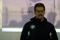 Mario Theissen. BMW Sauber F1 TEST with Robert Kubika as driver. Circuito Ricardo Tormo de la Comunitat Valenciana, Cheste, Valencia, Spain