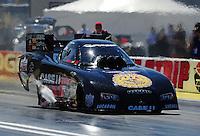 Apr. 1, 2011; Las Vegas, NV, USA: NHRA funny car driver Brian Thiel during qualifying for the Summitracing.com Nationals at The Strip in Las Vegas. Mandatory Credit: Mark J. Rebilas-