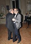 DIZZY ALFONS CON ALAN FRIEDMAN BALLANO<br /> COMPLEANNO DIZZY ALFONS - PALAZZO SACCHETTI ROMA 2008