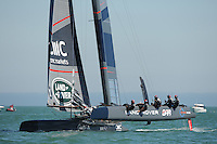 Land Rover BAR, JULY 23, 2016 - Sailing: Sir Ben Ainslie (GBR) Land Rover BAR team principal and skipper during day one of the Louis Vuitton America's Cup World Series racing, Portsmouth, United Kingdom. (Photo by Rob Munro/AFLO)