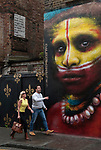 Brick Lane Whitechapel London UK Dale Grimshaw artist.