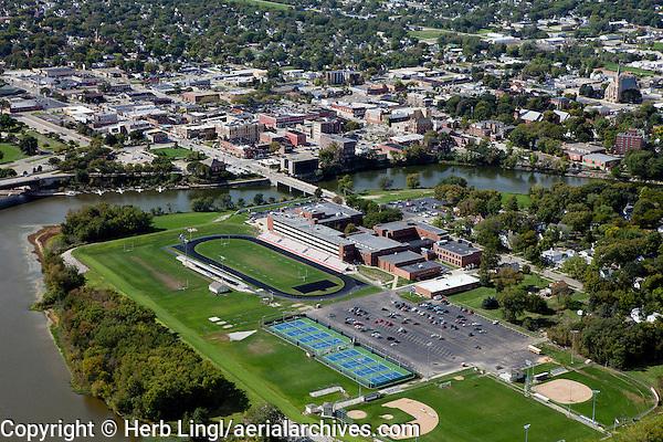 aerial photograph Ottowa, Illinois