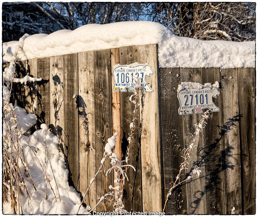 Winter in Yellowknife