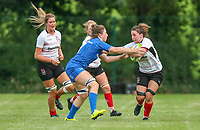 24 August 2019; Beth Cregan during the Women's Interprovincial Championship match between Ulster and Leinster at Armagh RFC in Armagh. Photo by John Dickson / DICKSONDIGITAL