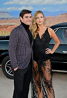 """LOS ANGELES, USA. October 08, 2019: RJ Mitte and Guest at the premiere of """"El Camino: A Breaking Bad Movie"""" at the Regency Village Theatre.<br /> Picture: Paul Smith/Featureflash"""