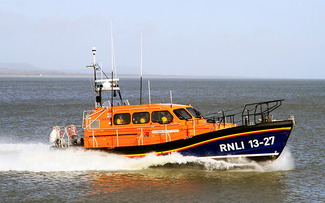 Wicklow all-weather lifeboat RNLB Joanna and Henry Williams