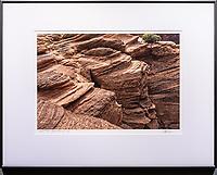 """Framed Size 20""""h x 26""""w, $450.<br /> Graphite Nielsen 15 metal frame"""