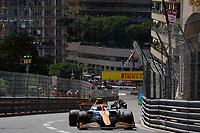 23rd May 2021; Principality of Monaco; F1 Grand Prix of Monaco,   Race Day;  Lando Norris GBR 4, McLaren F1 Team
