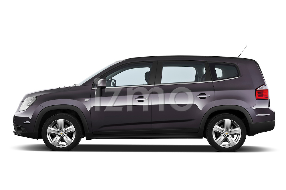 2013 Chevrolet Orlando LTZ+ MPV Driver Side View Stock Photo