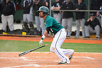 Chicago State University Cougars second baseman Joelh Calixto #7 during a game against the Muskingum Fighting Muskies at South County Regional Park on March 3, 2013 in Punta Gorda, Florida.  (Mike Janes/Four Seam Images)