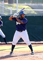 Corey Kemp / Milwaukee Brewers 2008 Instructional League..Photo by:  Bill Mitchell/Four Seam Images