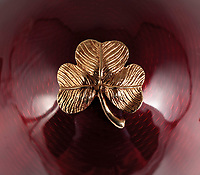 BNPS.co.uk (01202 558833)<br /> Pic: Dukes/BNPS<br /> <br /> A gold Irish shamrock is also on the egg.<br /> <br /> On Me Egg, Son...<br /> <br /> A rare Faberge egg made to commemorate George Best's leading role in Manchester United's first ever European Cup win has emerged for sale for £18,000.<br /> <br /> The 24-carat gold egg has a detachable top which can be removed to reveal a small statue of the legendary footballer.<br /> <br /> He has a diamond studded football at his feet and looks poised to set off on a trademark dribble.
