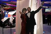 WASHINGTON DC - JANUARY 19: The Boots and Black Tie Ball the night before the inauguration January 19, 2005 in Washington, DC at the Marriott Hotel. Thousands of people where not able to enter the main ball room as it was filled to capasity. (photo by Anthony Suau)