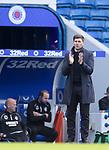 22.08.2020 Rangers v Kilmarnock: Applause from Steven Gerrard