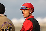 Archarcharch jockey Jon Court at Churchill Downs in Louisville, Kentucky to be run May 7, 2011.