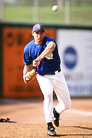 Steve Colyer of the San Bernardino Stampede during a California League baseball game at The Ranch circa 1999 in San Bernardino,CA. (Larry Goren/Four Seam Images)