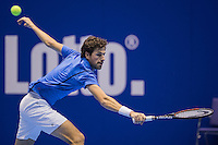 Rotterdam, Netherlands, December 18, 2016, Topsportcentrum, Lotto NK Tennis, Robin Haase (NED)<br /> Photo: Tennisimages/Henk Koster