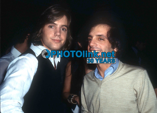 New York, NY<br /> 1978 FILE PHOTO<br /> Shaun Cassidy Steve Rubell at Studio 54<br /> Photo by Adam Scull-PHOTOlink.net