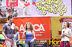 Aaron Tveit, Bernadette Peters & Mary Tyler Moore.attending the Presentation for Broadway Barks Lucky 13th Annual Adopt-a-thon  in New York City.